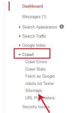 crawl>>sitemaps