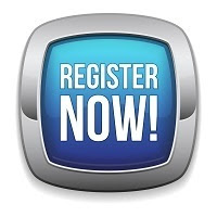 Blue Register Now Button