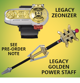 POWER RANGERS ZEO REPLICAS
