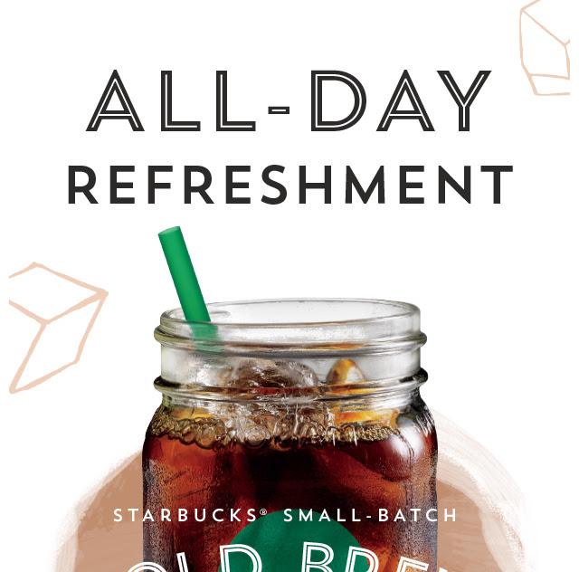 All–Day Refreshment.