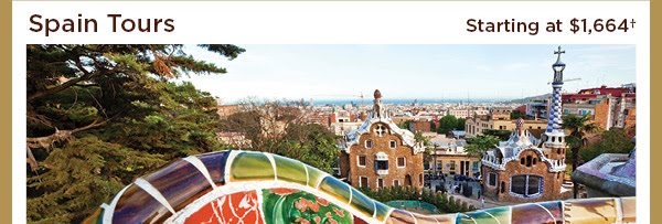 Spain Tours - Starting at $1,664+