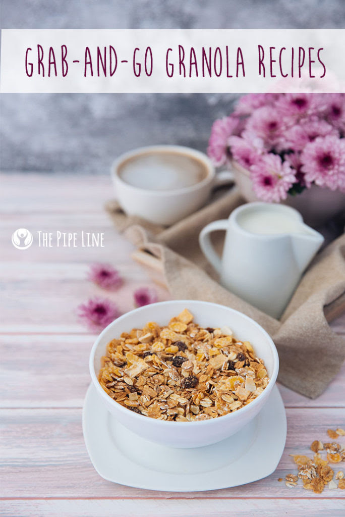 Homemade Granola: 3 Grain-tast...