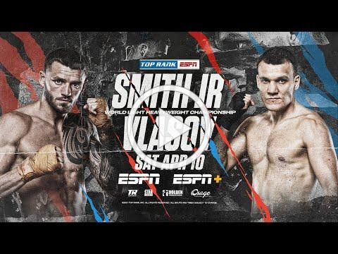 Joe Smith Jr vs Maxim Vlasov | April 10th OFFICIAL TRAILER