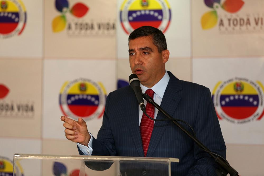 El ministro para Relaciones Interiores, Justicia y Paz, Miguel Rodríguez Torres