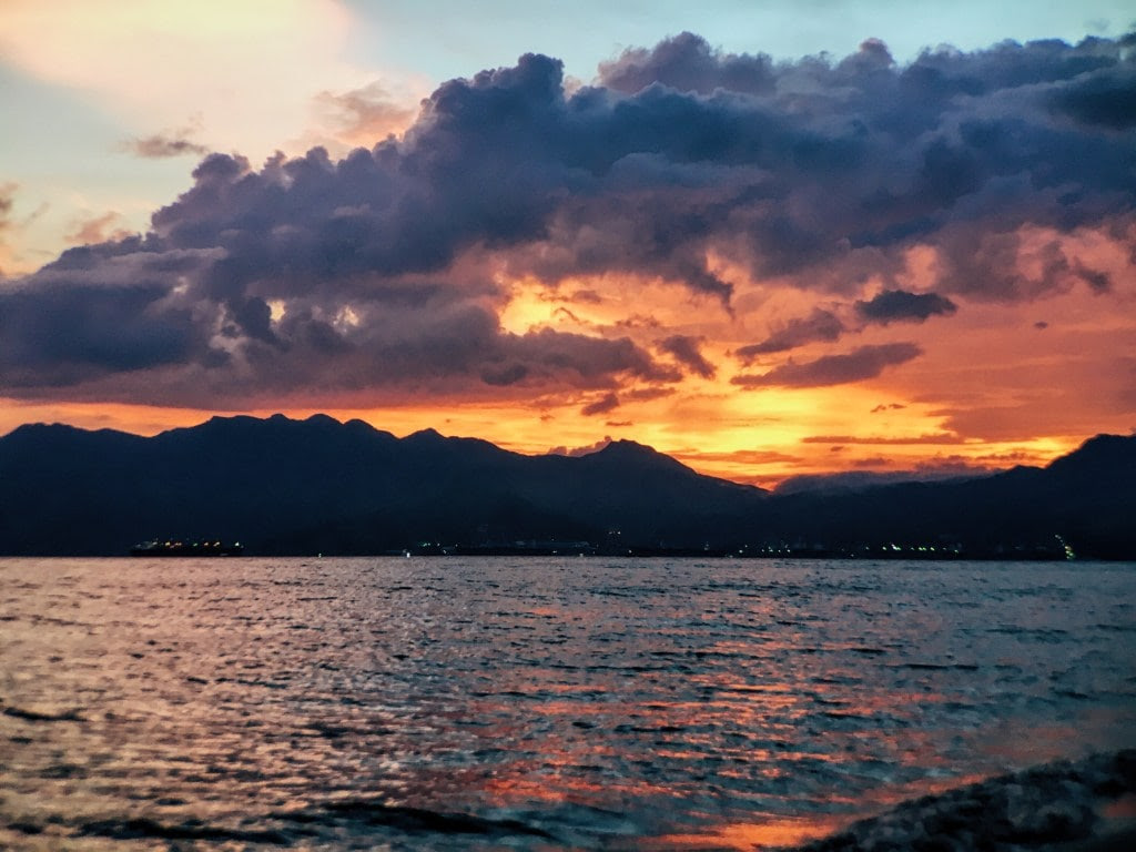 things to do in Subic, Subic travel guide, sunset in subic