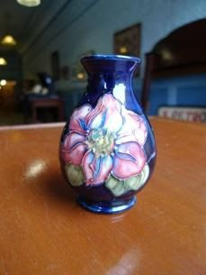 Moorcroft Vase - Sold for $280 at the MaxSold Turk's Antique Store Clearout Online Auction