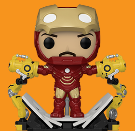 Pop! Deluxe: Iron Man 2 - Iron Man with Gantry PX Previews Exclusive