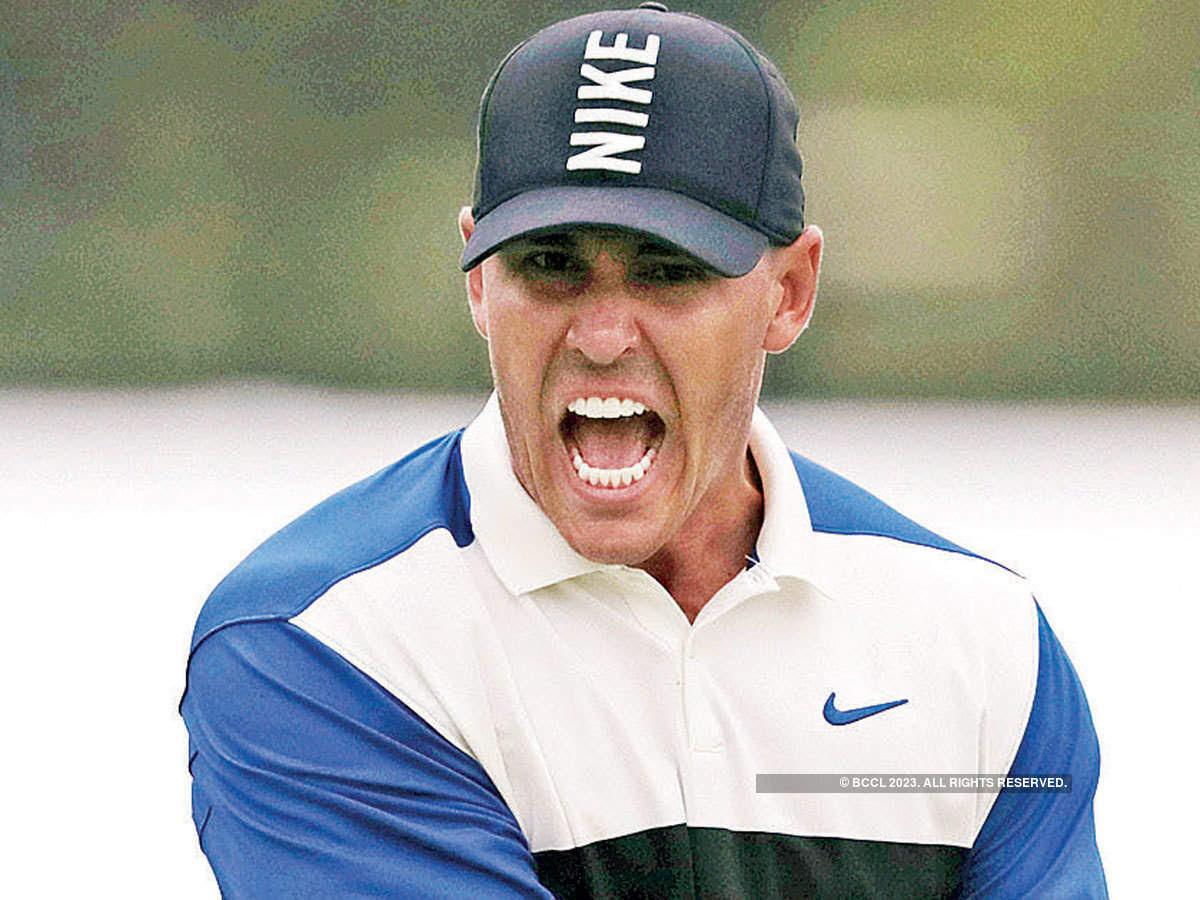 Tiger Woods: PGA Championship: Brooks Koepka survives black course - The Economic Times