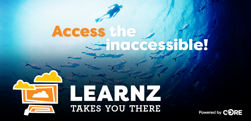 Access the inaccessible! LEARNZ takes you there. Powered by CORE.