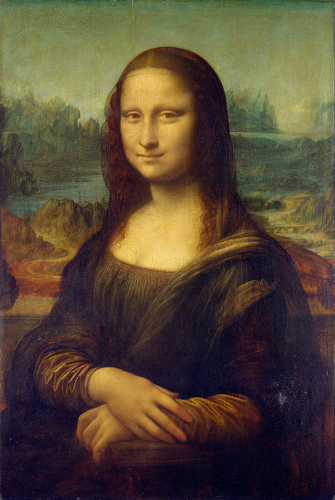 Most Famous Paintings: Mona Lisa, by Leonardo da Vinci