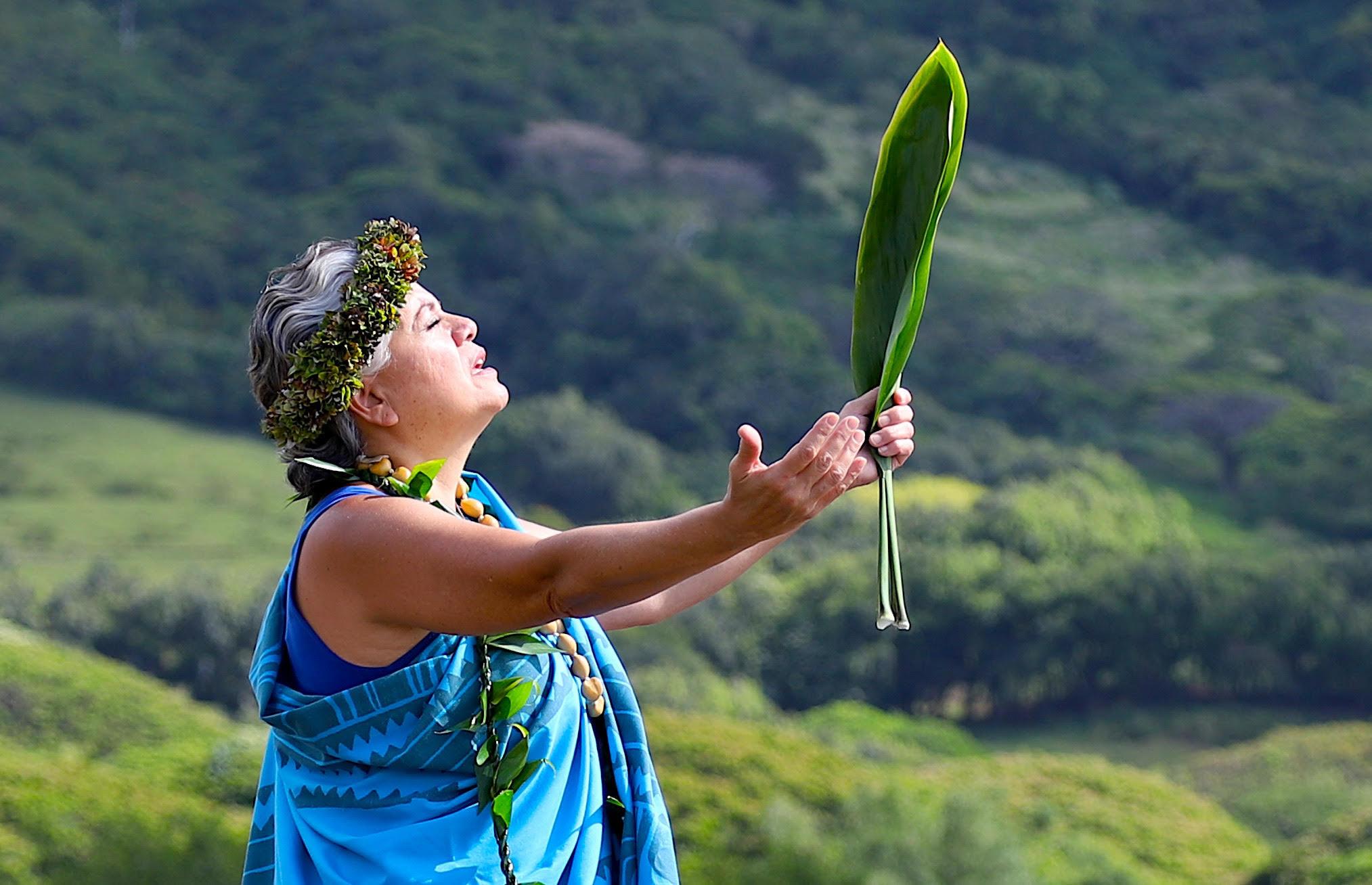 Ho'oponopono is alive and asking for change. Kahu Lāhela Johnson.