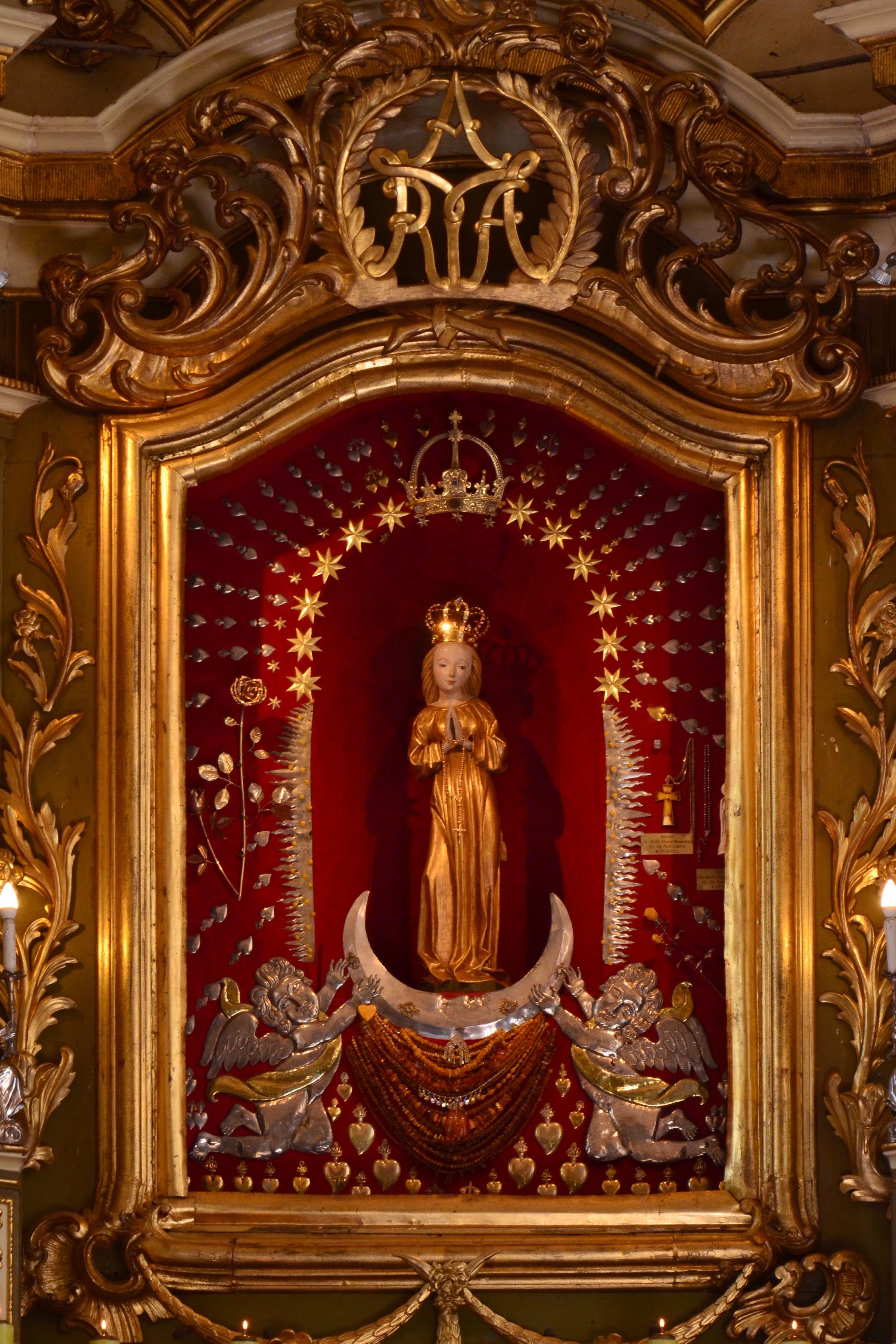 Znalezione obrazy dla zapytania matka boża brzemienna