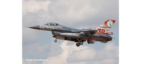 570992   Herpa Wings 1:200 1:200   Lockheed F-16A Fighting Falcon KLU 322 Sq J-879   is due: September 2020