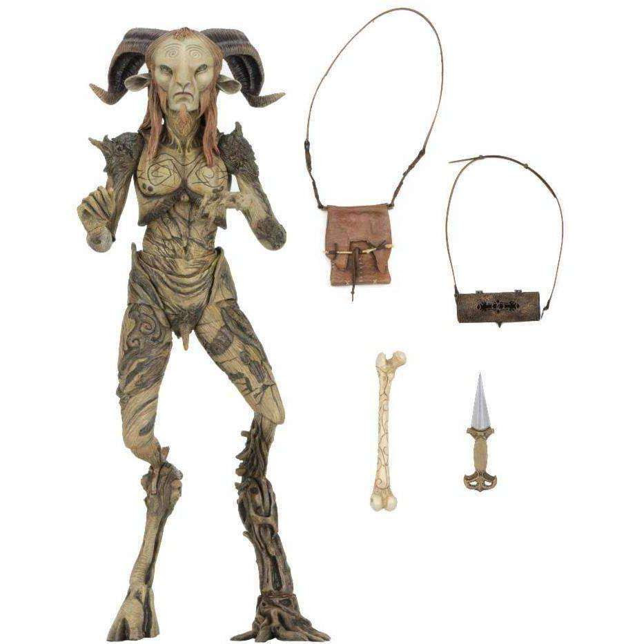 "Image of Guillermo Del Toro Signature Collection - 7"" Scale Action Figure - Faun (Pan&squot;s Labyrinth)"