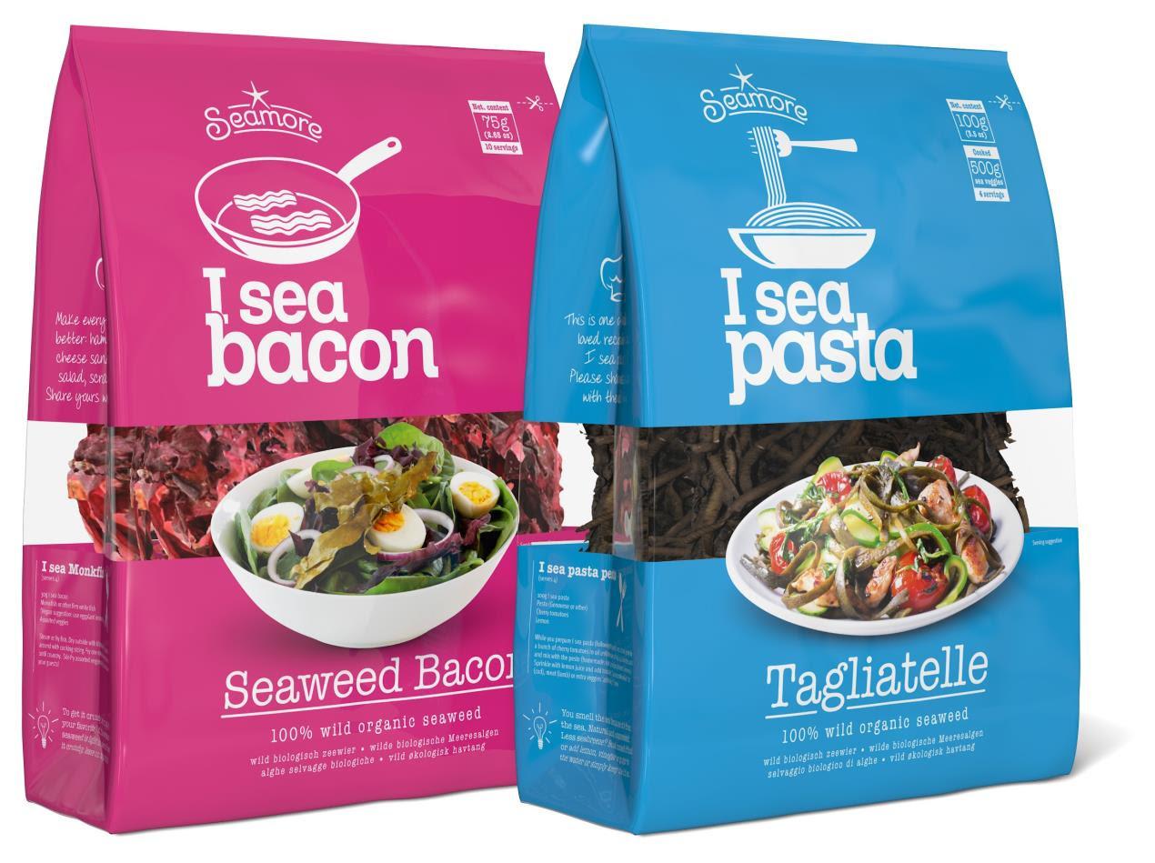 I Sea Pasta & Bacon Packaging