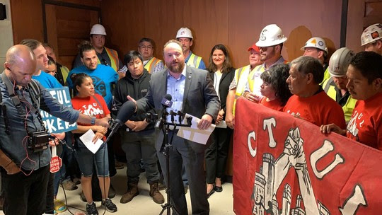 Wage Theft Prevention press conference