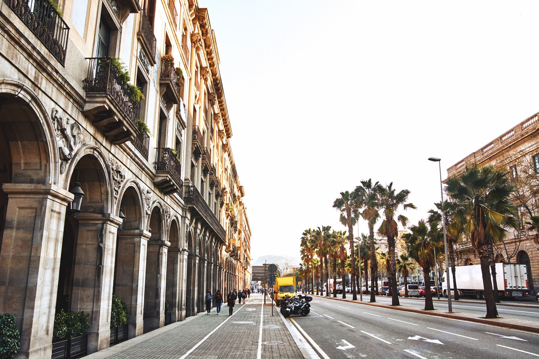 Beautiful Spanish Street