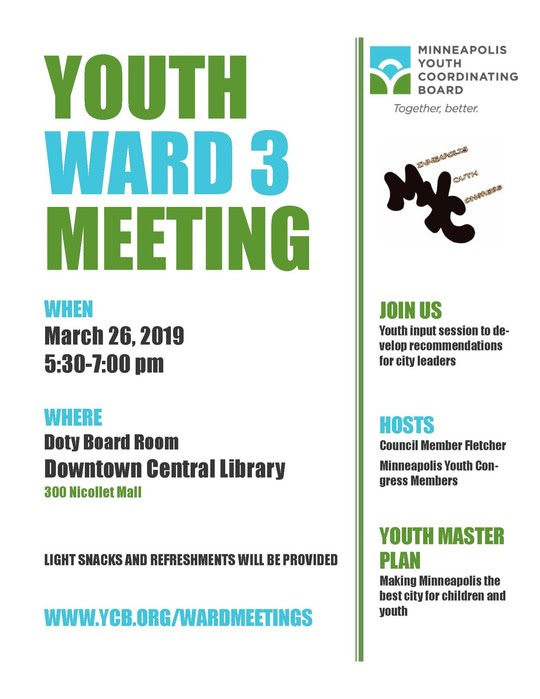 Youth Ward 3 Meeting