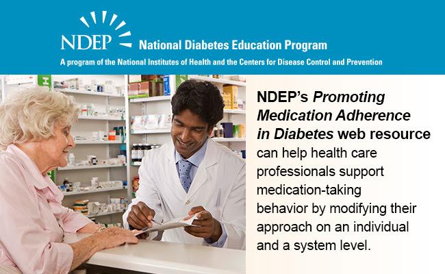 Promoting Medication Adherence in Diabetes