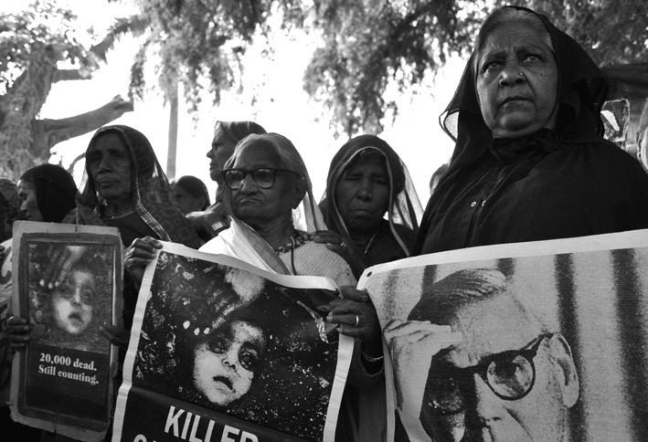 Bhopal protest, 2013