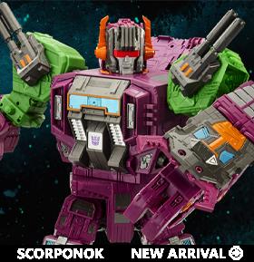 Transformers War for Cybertron: Earthrise Titan Scorponok