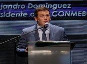 """""""El aficionado podrá disfrutar de al menos cinco partidos de su selección, lo que refuerza el espectáculo y la fiesta deportiva"""", señaló el presidente de la CONMEBOL."""
