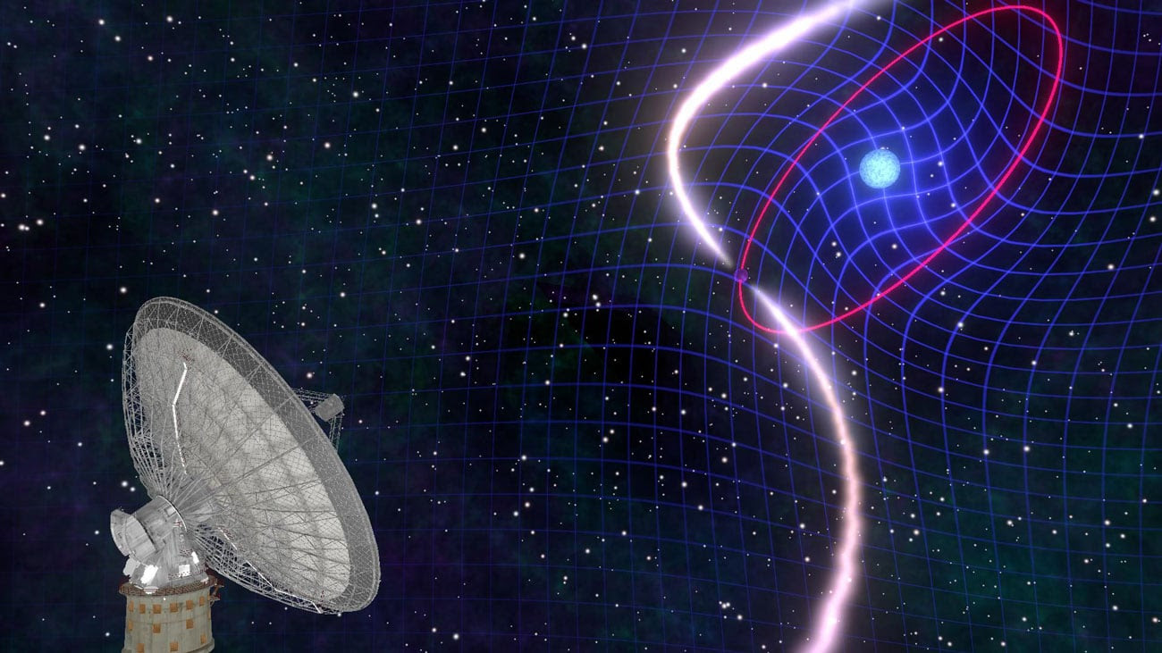 Image result for dragging of space-time in binary stars""