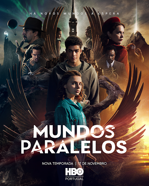 """SEGUNDA TEMPORADA DE """"MUNDOS PARALELOS"""" ESTREIA A 17 DE NOVEMBRO NA HBO PORTUGAL"""