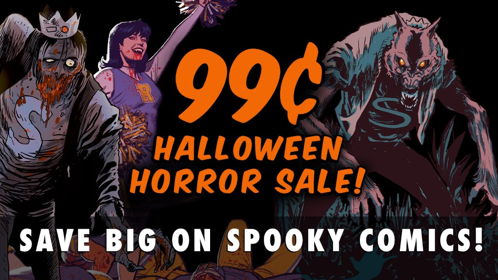 99 Cent Halloween Horror Sale
