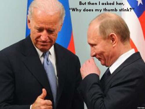 Biden and Putin