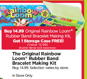 Free Case with a Rainbow Loom Purchase