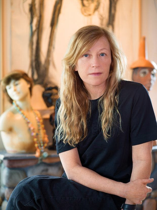 Cindy Sherman photographed in her studio in New York in Aprill 2019. Portrait: Nina Subin