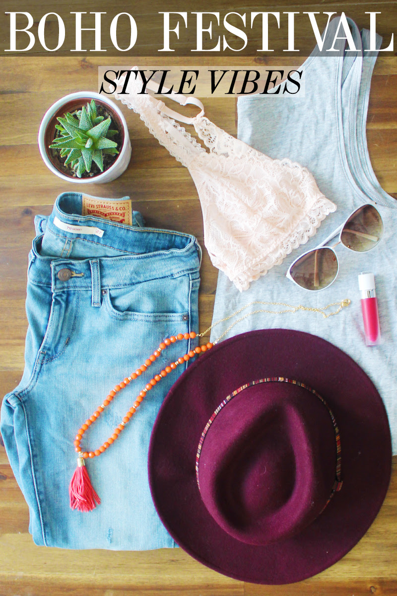 BOHEMIAN FESTIVAL STYLE VIBES FOR SPRING 2016