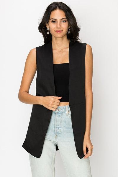 tie back vest