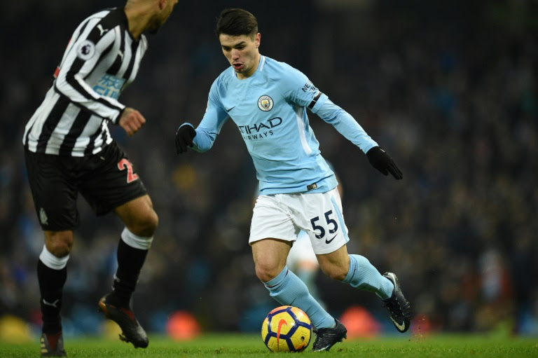 Brahim Diaz moved to Manchester City from Malaga