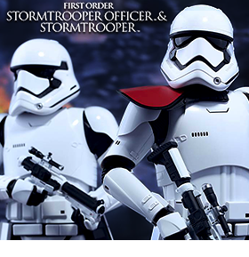 First Order Stormtrooper & Officer