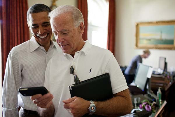 Vice President Joe Biden and President Barack Obama