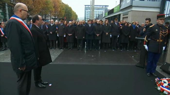 """VIDEO. 13-Novembre : l'hommage du fils d'une victime, """"vive la tolérance, vive l'intelligence et vive la France"""""""