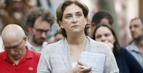 La candidata a la alcaldía de Barcelona en Comú, Ada Colau. EFE
