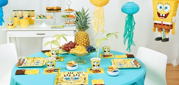Throw a Fun SpongeBob-Themed B...