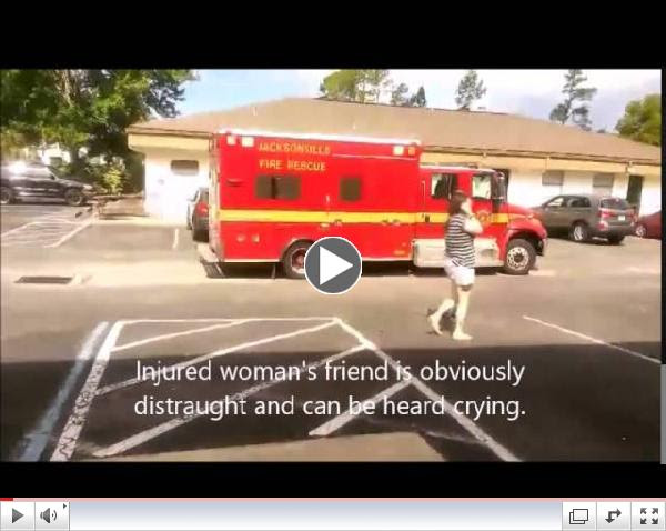 Sobbing, Scared Abortion Patient Transported to Hospital 09042914