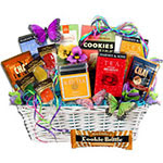 Tea and Cookies Gift Basket