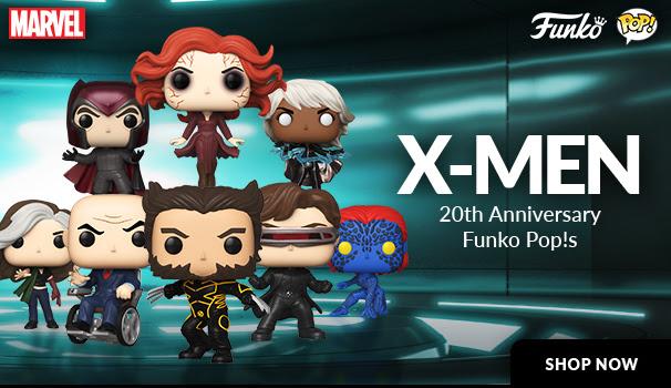 New X-Men 20th Anniversary Funko Pop!s