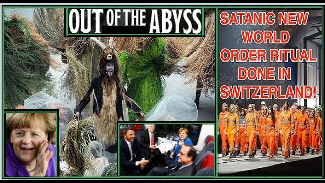 World Leaders Release Satan in Gates of Hell Ceremony (David Vose Video)