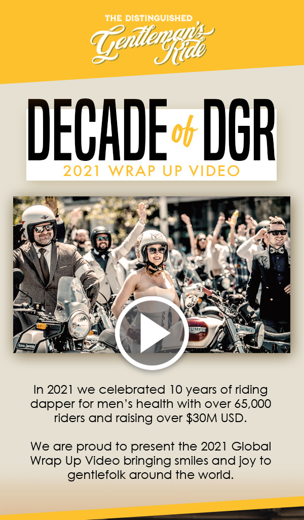 The Distinguished Gentleman's Ride Wrap Up