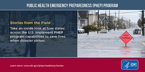 Stories from the Field: Take an inside look at how states implement PHEP program capabilities to save lives
