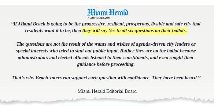 Miami Herald election endorsement