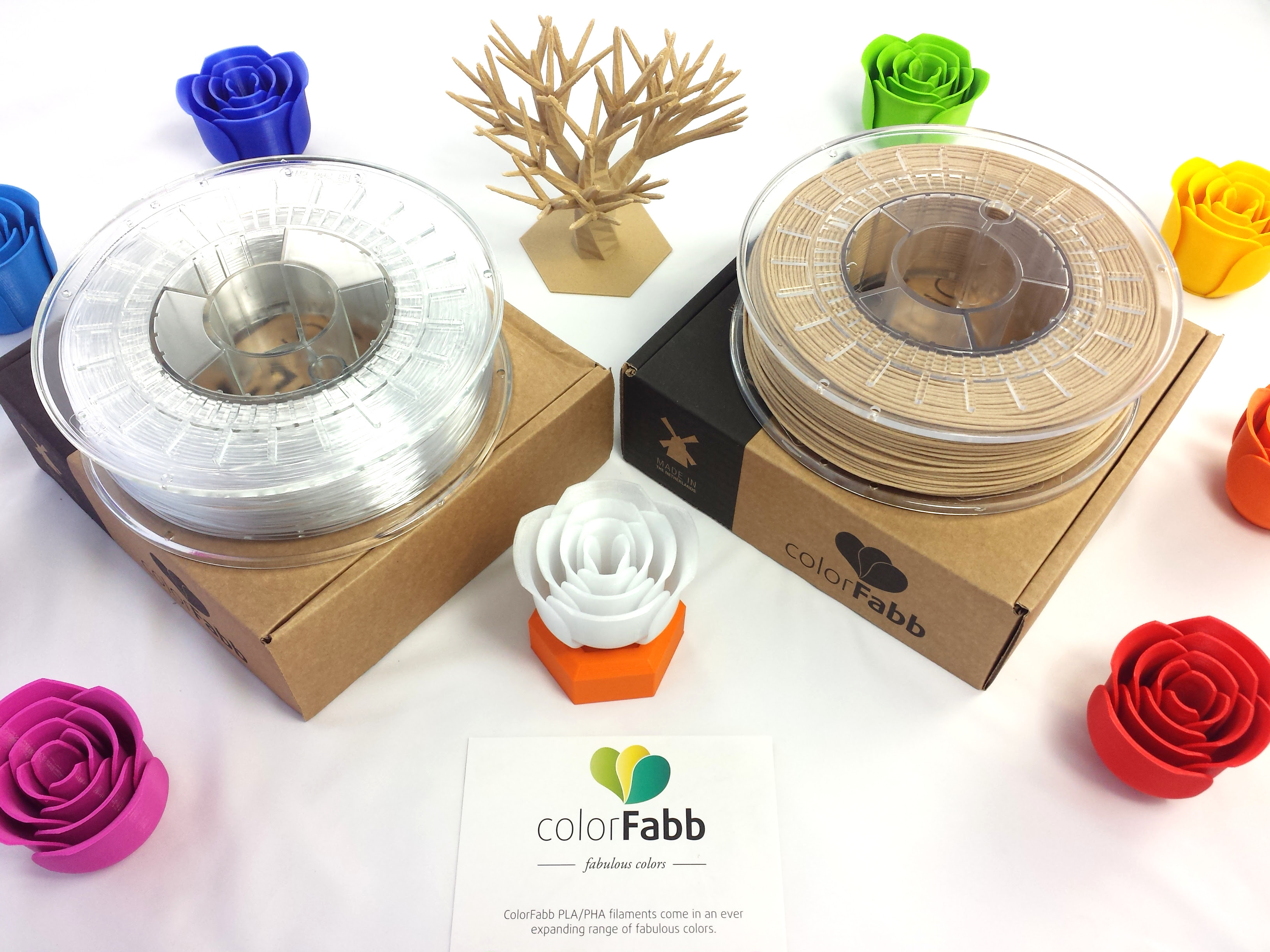 ColorFabb NEW _XT formula and WoodFill FINE now available at Voxel Factory!