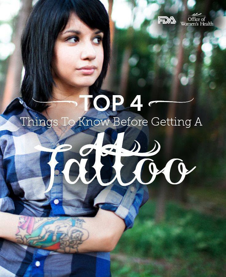 Top 4 Things to Know Before Getting a Tattoo