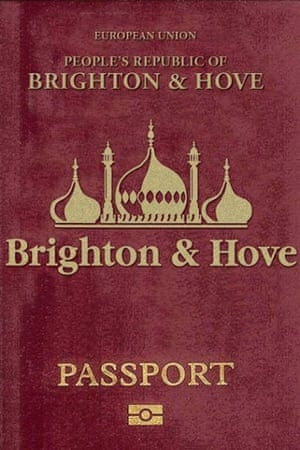 The republic's new passport.